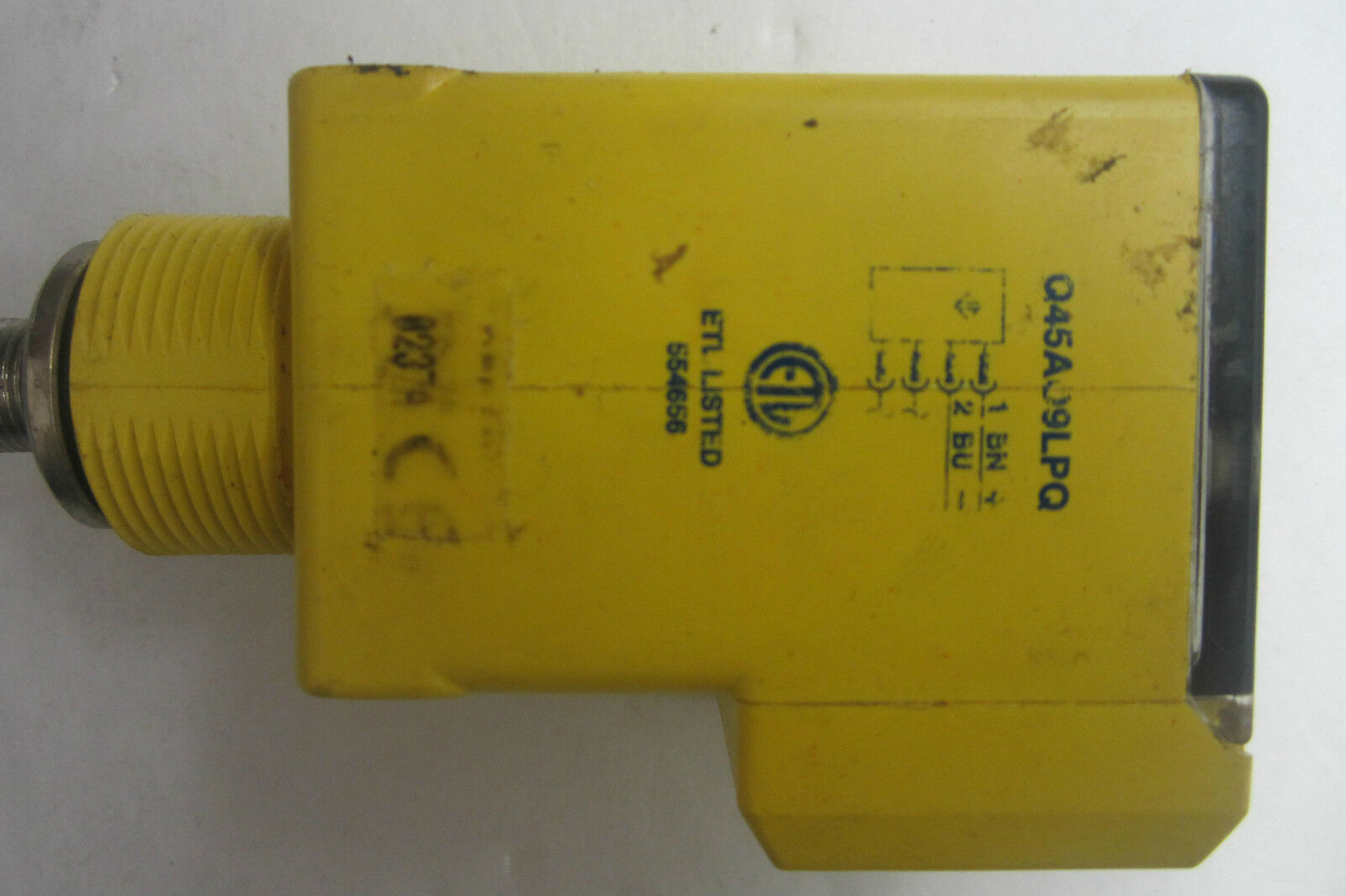 USED BANNER ENGINEERING Q45AO9LPQ CONNECTOR