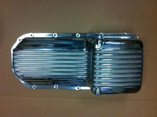 NEW! Buick nailhead cast ALUMINUM FINNED oil pan 57-66 364-401-425  hot rod