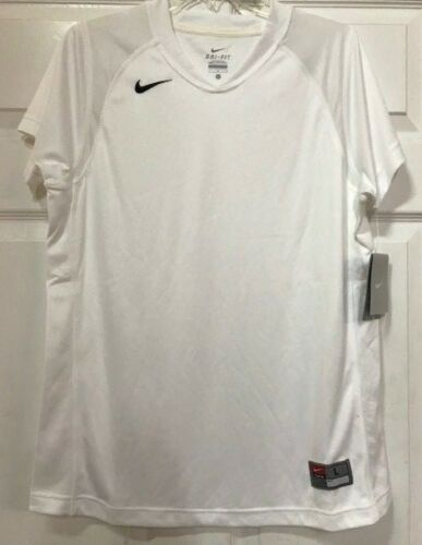 Nouveau manche T 100Polyester courte shirt ᄄᄂ Femme Blanc Nike Sᄄᆭries IbfYvy6m7g