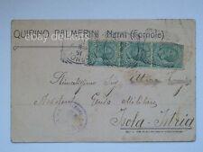 NARNI Fornole Terni Quirino Palmerini vecchia cartolina