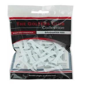The-Golfers-Club-Golf-Graduated-White-Plastic-Tees-2-Inch-x-25
