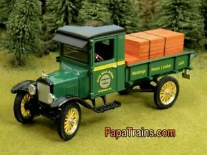 Die-Cast-1923-Ford-Model-T-Saw-Mill-River-G-Scale-1-32-by-Signature-23-Model-T
