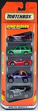 Matchbox Dino Riders 5 Pack 1997 NEW Isuzu, Mitsubishi, Ford, Chevrolet Van 4x4
