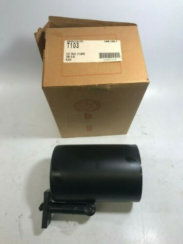 NEW! Prescolite Track Lighting Flat Back Cylinder T103 75W R-30 Black