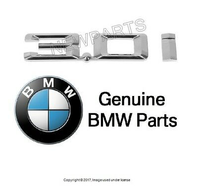 Genuine BMW E85 Roadster Front Wing 3.0i Badge Logo Sign OEM 51147114723