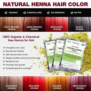 Natural Henna Hair Color 100 Organic And Chemical Free Henna Grey