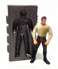 """STAR WARS Original Trilogy Thawed Out Han Solo w/Carbonite Block 3.75"""" figure"""
