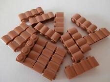 LEGO CHEVALIER 15 brun-ocre clair Palissades Pièces de construction 1 x 4
