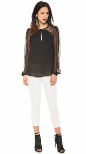 Hippie ajusté Haute Pantalon blanc 4 375 taille 885905481488 w4nqtzR