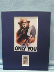"""""""Only You Can Prevent Forest Fires"""" & the Smokey the Bear stamp"""