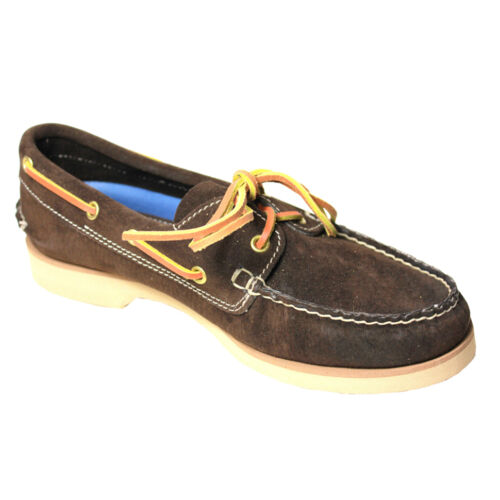 Italy Sanglier In Cuir Homme 100 3 Marron Américain Mocassins Fly Made SI7Pvwq7