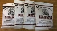 Claeys Horehound Old Fashioned Hard Candy 4 Pack 6oz Bags Free Shipping