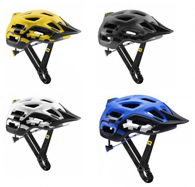 MAVIC Notch Mountainbike Fahrrad-Helm Belüftet Verstellbar blue Größe S 51-56cm