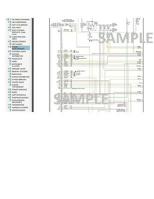 Ford F-150 2005 05 Complete Color Wiring Diagram Schematic ...