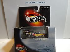 Hot Wheels 100% Black Box Black Pontiac Funny Car w/Real Riders