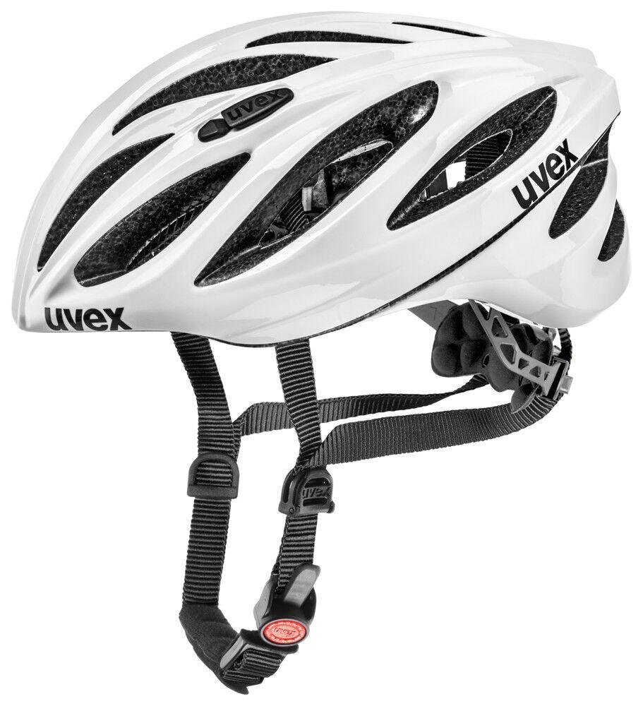 Uvex Boss Race Vélo De Course Vélo Casque blanc 2019