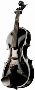 Barcus-berry Vibrato-ae Acoustic-electric Violin Outfit Avec étui-noir-ric Violin Outfit W/ Case - Black Fr-fr Afficher Le Titre D'origine