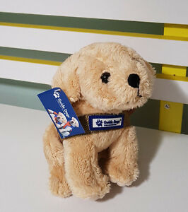 GUIDE-DOG-PLUSH-TOY-COLLECTION-LABRADOR-PLUSH-TOY-WITH-TAG-20CM-TALL