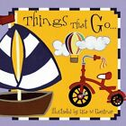 Things That Go by Flowerpot Press (Board book, 2014)