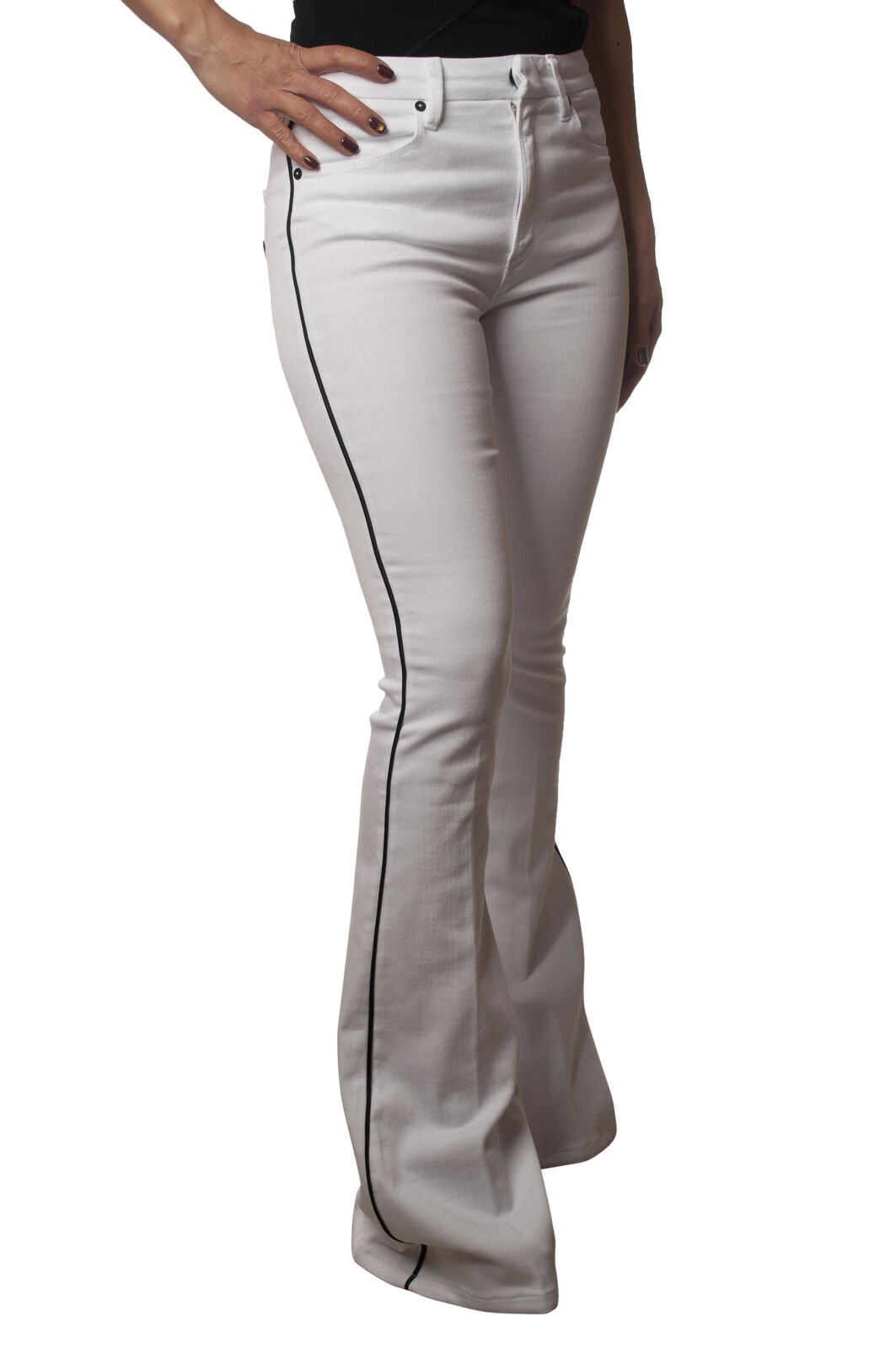 Dondup - Jeans, Trousers, leg - Woman - White - 5940609C190905