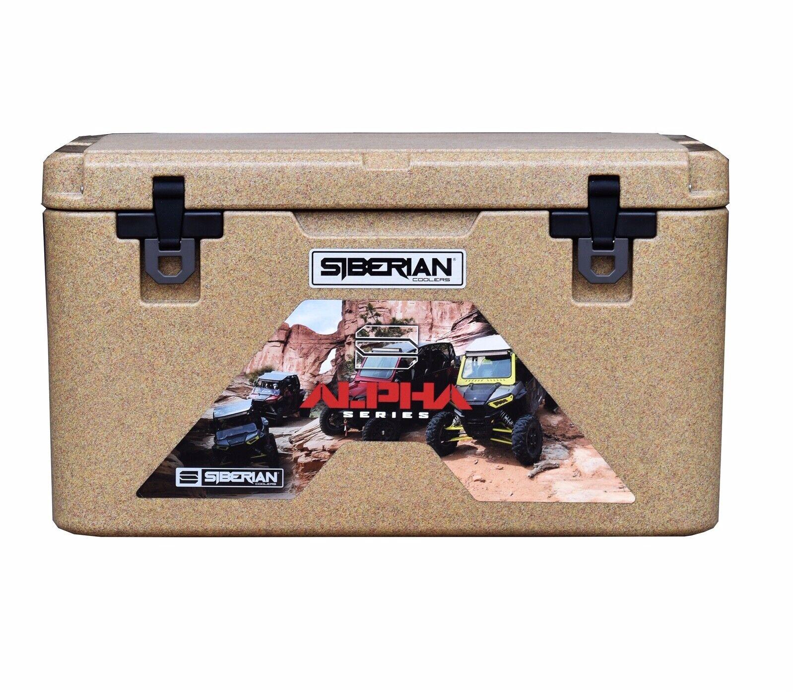 Siberian Coolers Alpha Pro Series  45 quart Sahara Tan  FREE Accessories  we supply the best