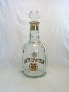 vintage jack daniels old no 7 whiskey decanter bottle inv 3264874 ebay