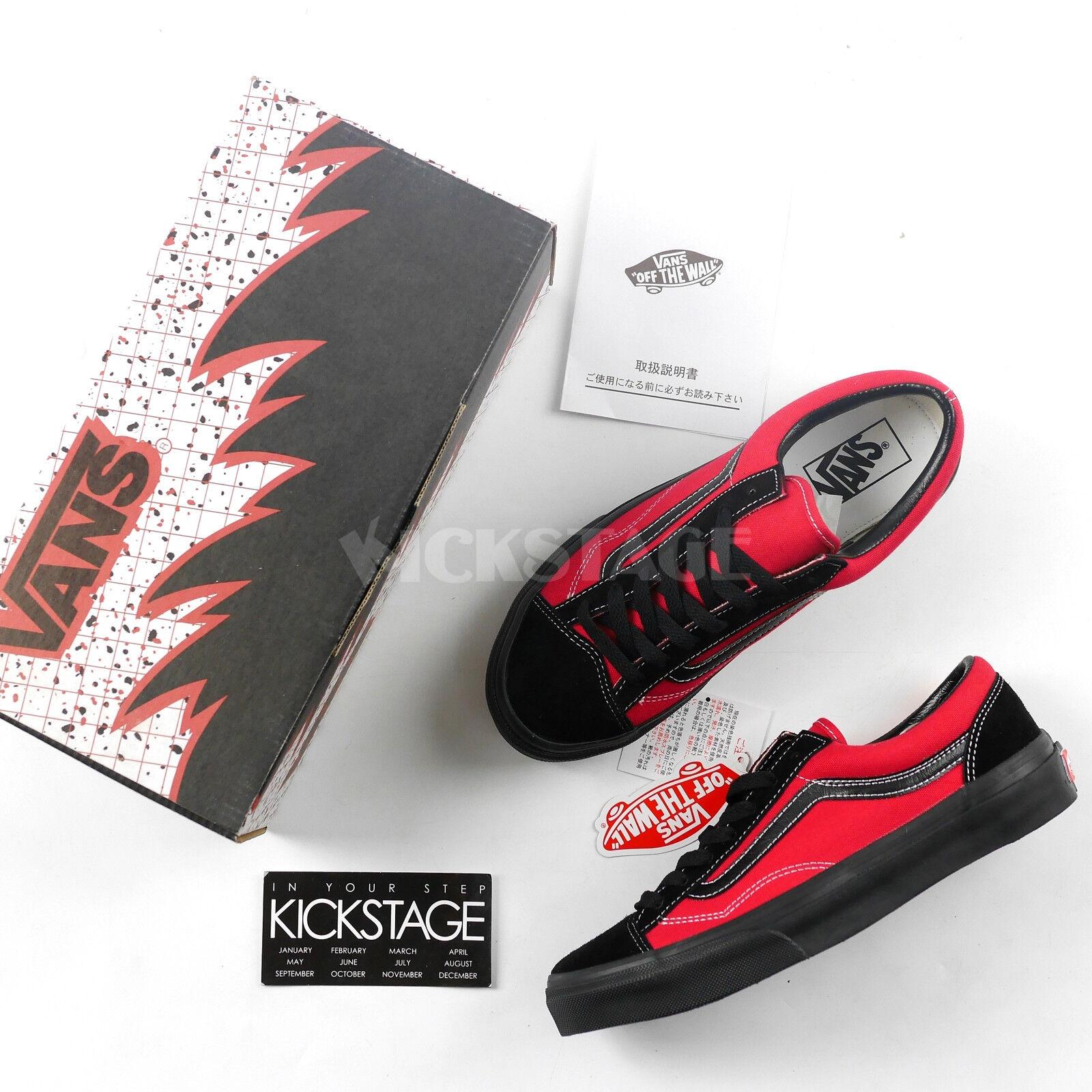 Vans x Billy's V36OG BS BKRD Old Skool Style 36 Black Red