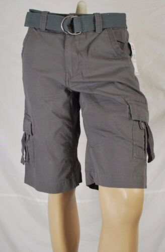 Ecko Unlimited Cargo Rip Stop Shorts Gray Msrp $49.50//$24.99 w// FREE ship 2USA