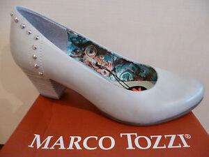 Pumps Ehemann Tozzi Ballerina Slipper Marco Grauer Neu gRzxS