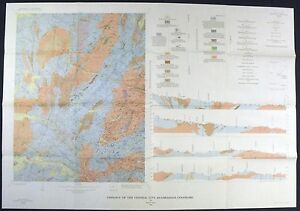Usgs Central City Colorado Geologic Map Full Color Original Sleeve
