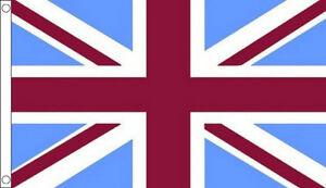 CLARET-MAROON-and-SKY-BLUE-UNION-JACK-FLAG-5-x-3-UJ-Aston-Villa-Football-Team