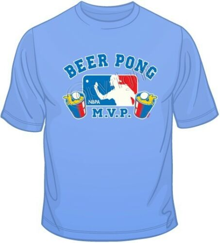 NBPA T Shirt You Choose Style Beer Pong Color Up to 4XL 10208 Size
