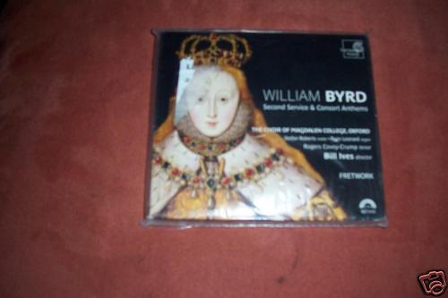 Second Service & Consort Anthems - William Byrd  - CD - NEU OVP