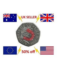 STRONG MAGNETIC 50 PENCE MAGIC TRICK COIN / 50p MAGNETIC COIN TRICK