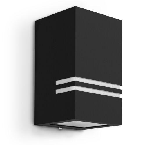 ip44 incl LED 5w BIANCO NEUTRO Nero Muro esterno lampada Jovo-S Up o Down