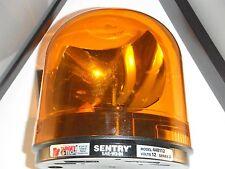 FEDERAL SIGNAL MODEL 448112 NEW AMBER 12 VT REVOLVING SENTRY WARNING LIGHT/LOOK!