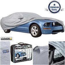 Sumex Cubierta + resistente al agua y Transpirable Coche Cubierta De Protección Completa Para Ford Mustang