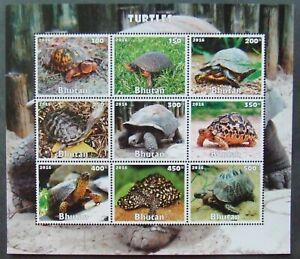 Privat Post - Turtles,-1 M/Sh-MNH-BH 30