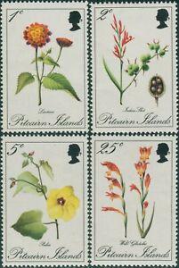 Pitcairn-Islands-1970-SG107-110-Flowers-set-MNH