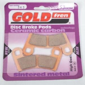 DéLicieux Plaquette De Frein Gold Fren Quad Polaris 800 Rzr 2011-2012 Avg / Avd Neuf