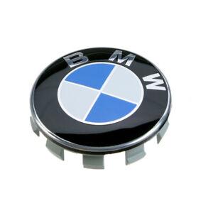COMPATIBILE-CON-BMW-Tappi-Coprimozzo-68mm-1-2-3-4-5-6-7-Serie-Z-X-Borchie-cerchi
