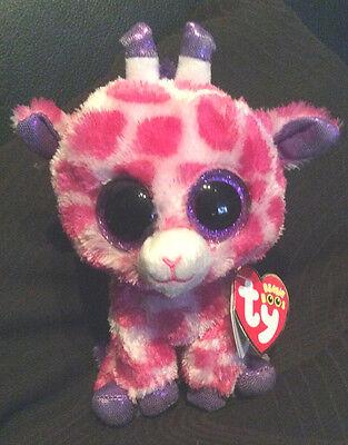 Di Carattere Dolce W-f-l Ty Boos Giraffa Twigs 15 Cm Glubschi Bu 's San Valentino Glitzerauge- Fabbriche E Miniere