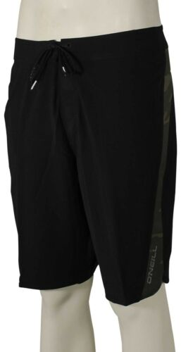 O/'Neill Superfreak Scallop Boardshorts New Black Camo