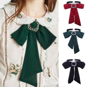 Image is loading Modern-Women-Bow-Tie-Choker-Chain-Statement-Chunky- ffd48ad006