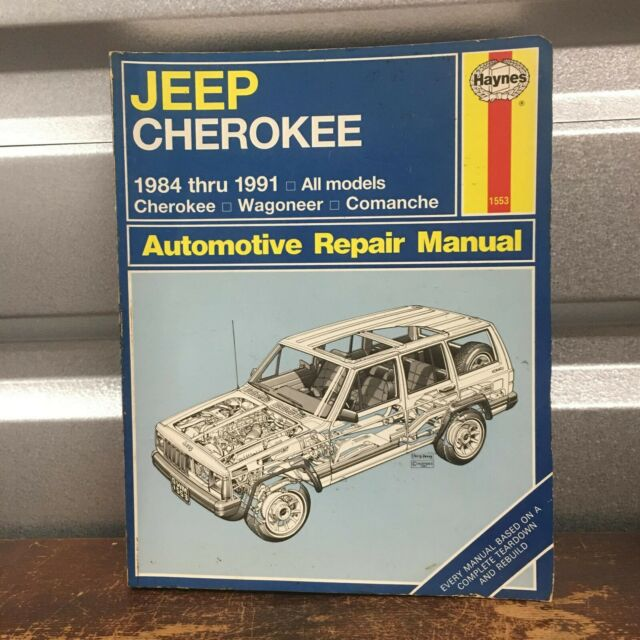 Jeep Cherokee  Wagoneer  Comanche 1984