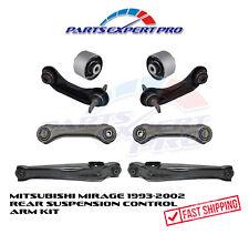 93 02 Mitsubishi Mirage Rear Suspension Control Arm Kit Upper Amp Lower Bushing Fits 1999 Mitsubishi Mirage