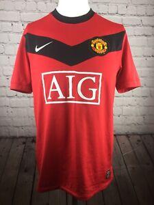 52b4178449c Image is loading Manchester-United-Football-Shirt-AIG-Authentic-Nike-Kit-