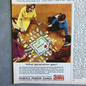 Monopoly-Parker-Brothers-Games-Vintage-Photo-Print-Magazine-Ad-1968
