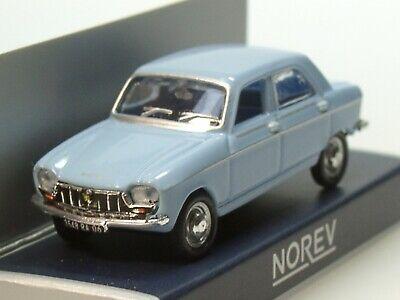 NOREV 1:87 Peugeot 204-1966 blue 472414