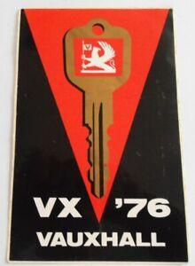 Bumper Stickers Vauxhall VX 76 Series Fe Victor Opel GB Odltimer